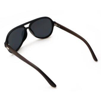301c2d83e29 รายละเอียด ALP Polarized Sunglasses แว่นกันแดด Aviator Style รุ่น ALP-0016- BKT-BKP-WD (Black Black)