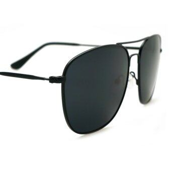 3dd1aed211f ... ALP Polarized Sunglasses แว่นกันแดด Aviator Style รุ่น ALP-0040-BKT-BKP  (