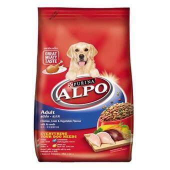 Alpo Adult Chicken Liver and Vegetable อัลโป สุนัขโต รสไก่ ตับและผัก 20 kg.