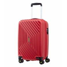American Tourister กระเป๋าเดินทางรุ่น AIR FORCE+  SPINNER55/20 TSA(20นิ้ว) สี FLAME RED