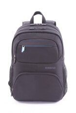 AMERICAN TOURISTER กระเป๋าเป้ใส่โน๊ตบุค รุ่น AMBER สี BLACK/BLUE