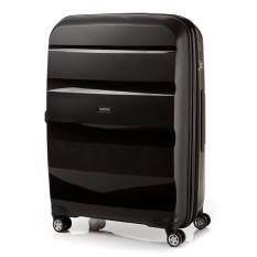 American Tourister กระเป๋าเดินทางรุ่น BON AIR DELUXE  SPINNER 75CM EXP(28นิ้ว) สี BLACK
