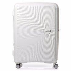 American Tourister กระเป๋าเดินทาง รุ่น CURIO SPINNER 69/25 EXP TSA สี WHITE