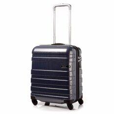 "American Tourister กระเป๋าเดินทางรุ่น HS MV+ Deluxe ขนาด 18""  สี NAVY/CHECKS"