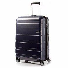 "American Tourister กระเป๋าเดินทางรุ่น HS MV+ Deluxe ขนาด 29""  EXP สี NAVY/CHECKS"