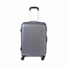 AMERICAN TOURISTER กระเป๋าเดินทางรุ่น VISBY   ขนาด 28 นิ้ว สี DARK GREY