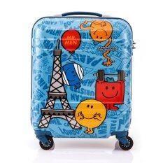 American Touristerกระเป๋าเป้รุ่นMMLM Spinner50/18 TSA CANVASสีLANDMARK BLUE