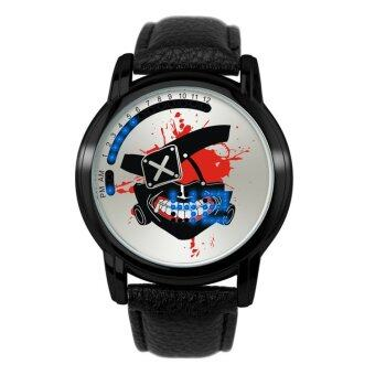 'Anime LED Touching Screen Waterproof 100M Boys'' Fashion Watches(Color:Ghoul Mask) - intl'