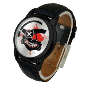 'Anime LED Touching Screen Waterproof 100M Boys'' FashionWatches(Color:Ghoul Jin Muyan) - intl'