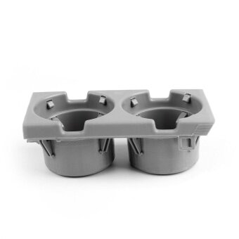 Areyourshop Front First Row Cup Holder Direct Replacement For BMW 3Series E46 1998-2006 GY - intl