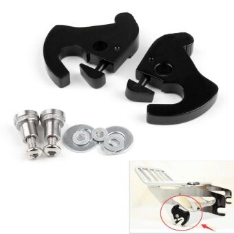 Areyourshop Rotary Latch Latches Kit With Locks For Harley SissyBar Luggage Rack Softail - intl