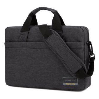 กระเป๋าสะพายใส่โน๊ตบุค**Asus Dell HP Lenovo Sony Mac** 14.6 นิ้ว - ดำ