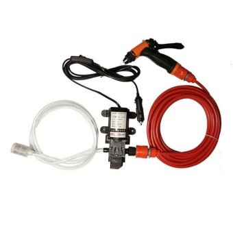 AUTO 70W 130PSI 6L/Min High Pressure Car Electric Washer Wash Pump\nDC 12V Clean Set - intl