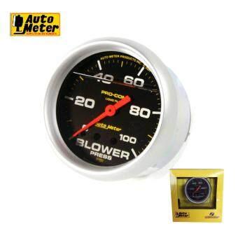 ประกาศขาย เกจ์วัด Auto meter Boost for diesel วัดบูสต์ หน้าน้ำมัน ดีเซล 100psi 2.5 หน้าดำ
