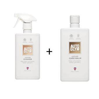 Harga Autoglym Leather Cleaner 500 ml.+Leather Care Balm 500 ml.