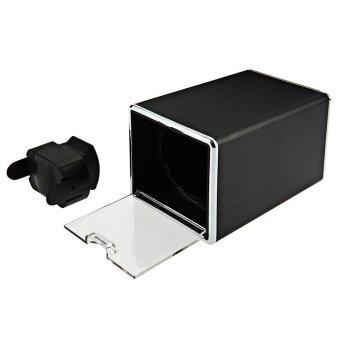 Automatic Watch Winder Display Box Autorotation Transparent CoverJewelry Storage Case With EU Plug - intl