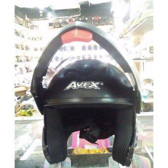 หมวกกันน็อค avex รุ่น cruk montershop no.2 สีดำ