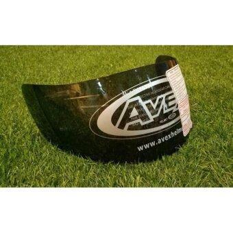 ชิลด์ หมวกกันน็อค AVEX รุ่น DX สีดำ