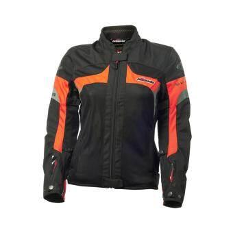 รีวิว เสื้อแจ๊คเก็ต BACUDA รุ่น AIR ZONE สีดำ-ส้ม size M