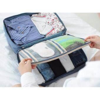 Bag Store กระเป๋าจัดระเบียบ เก็บเสื้อผ้า รุ่น Travel Luggage ขนาด38x27x18 cm – สีแดง