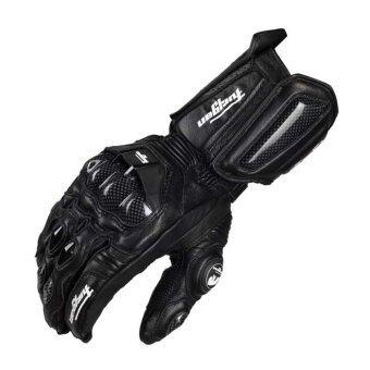 ถุงมือบิ๊กไบ้ค์ Big Bike ถุงมือมอเตอร์ไซค์ ถุงมือขับรถ FuryganAFS10 การ์ดคาร์บอน สีดำ - ขนาด XL