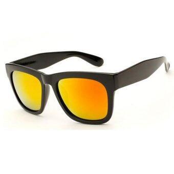 Big Frame Women Sunglasses Retro Vintage  UV400 red-and-black-frame - Intl
