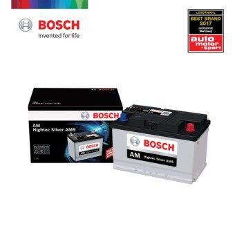 BOSCH DIN Batteries แบตเตอรี่แบบกึ่งแห้ง (DIN78R) 78Amp สำหรับนิสสัน นาวาร่า Nissan Navara