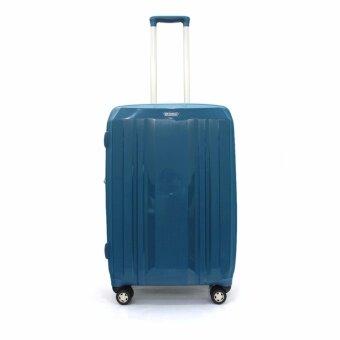 BP WORLD กระเป๋าเดินทาง รุ่น 60014 ขนาด 25 นิ้ว (สีฟ้า)