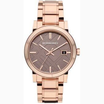 Harga Burberry Swiss Made Rose Gold Tone Unisex Bracelet Watch BU9005
