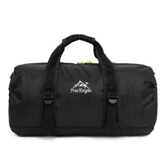 Camping Traveling Bag Mountaineering Waterproof Hiking Handbag(Black) - intl