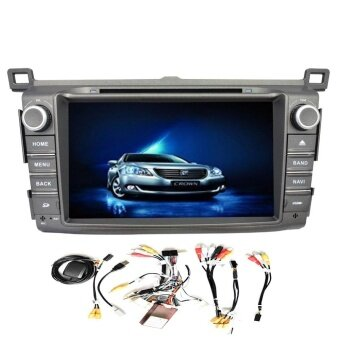 Canbus + Android 4.4 Quad Core Car DVD Player Built-in GPS Navigation bluetooth support WIFI Mirror Link 8\ Car Stereo Special for Toyota RAV4(2013 2014) - intl