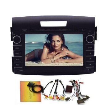 ฟรี Canbus + Android 5.1 Quad Core เครื่องเล่นดีวีดีสเตอริโอ Built-in GPS Navigation บลูทู ธ สนับสนุน WIFI Mirror Link 7 \เครื่องเสียงรถยนต์อเนกประสงค์สำหรับ Honda CRV (2012 2013)