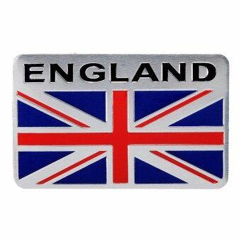 รีวิว Car Aluminum 3D GB England UK Flag Shield Emblem Badge Truck AutoDecals Sticker – intl