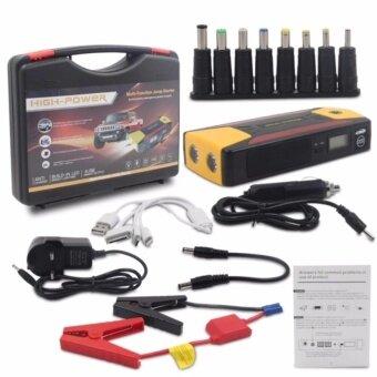 Car Jump Starter Power Bank ไฟฉายในตัวเครื่อง ชาร์จ แบตเตอรี่ รถยนต์ จั้มสตาร์ท แบตสำรอง 69800mah Emergency Start 4 USB Power Bank Battery Charger