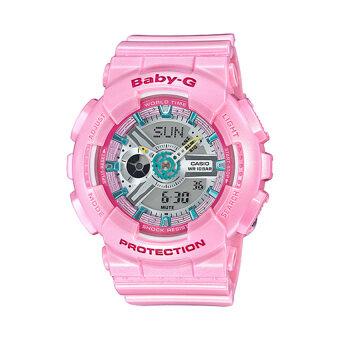 โปรโมชั่นพิเศษ Casio Baby-G นาฬิกาข้อมือผู้หญิง รุ่น BA-110CA-4ADR (สีชมพู)