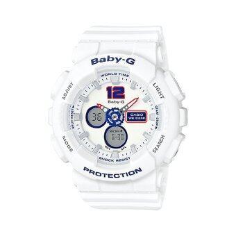 2561 Casio Baby-G นาฬิกาข้อมือผู้หญิง สายเรซิ่น รุ่น BA-120TR-7BDR Limited Edition