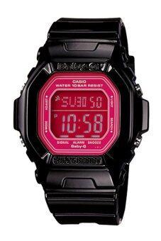 ราคา CASIO Baby-G นาฬิกาข้อมือผู้หญิง สีดำ สายเรซิ่น รุ่น BG-5601-1DR