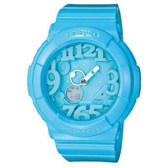 ราคา Casio baby-g นาฬิกาข้อมือ รุ่น BGA-130-2BDR - blue