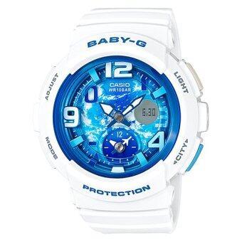 รีวิว Casio Baby-G นาฬิกาข้อมือผู้หญิง สายเรซิ่น รุ่น BGA-190GL-7B