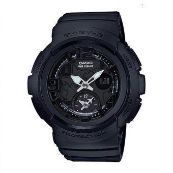 Casio Baby-G Women's Black Resin Strap Watch BGA-190BC-1B