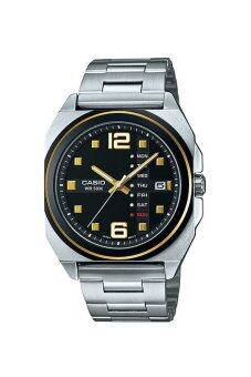 Casio นาฬิกาข้อมือ Casio Analog Men รุ่น MTF-117BD-1AV - Silver/Black ...
