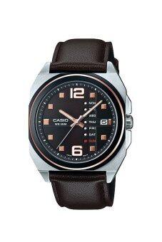 Casio นาฬิกาข้อมือ Casio Analog Men รุ่น MTF-117BL-5AV - Black ...