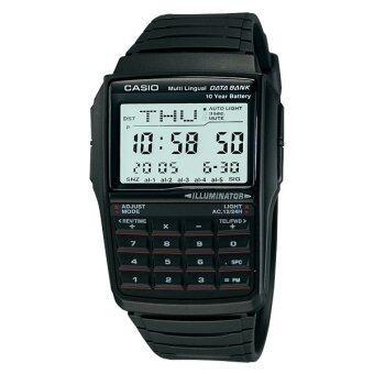 Casio Data Bank นาฬิกาข้อมือ รุ่น DBC-32-1 - สีดำ