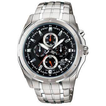 Casio Edifice นาฬิกาข้อมือผู้ชาย 7 เข็ม สายแสตนเลส รุ่น EF-328D-1A