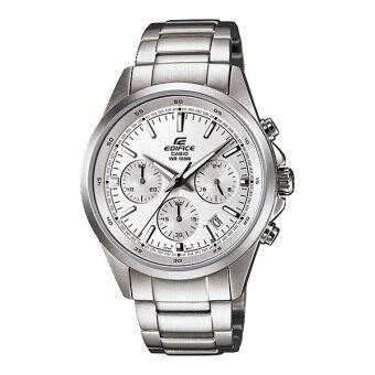 ราคา Casio Edifice นาฬิกาข้อมือชาย รุ่น EFR-527D-7A - Silver/White