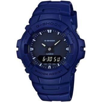 นาฬิกา CASIO G-shock 2 ระบบ G-100CU-2ADR (ประกัน CMG)