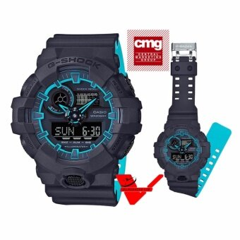 Casio G-shock (ประกันCMG) นาฬิกาข้อมือชาย 2 ระบบ นาฬิกาข้อมือ สายเรซิ่น รุ่น Limited Edition GA-700SE-1A2
