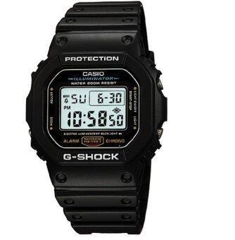 ประเทศไทย Casio นาฬิกาข้อมือ G-Shock DW-5600E-1 (สีดำ)