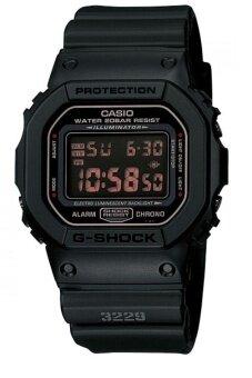 Casio G-Shock นาฬิกาข้อมือ สายเรซิ่น รุ่น DW-5600MS-1DR - Black