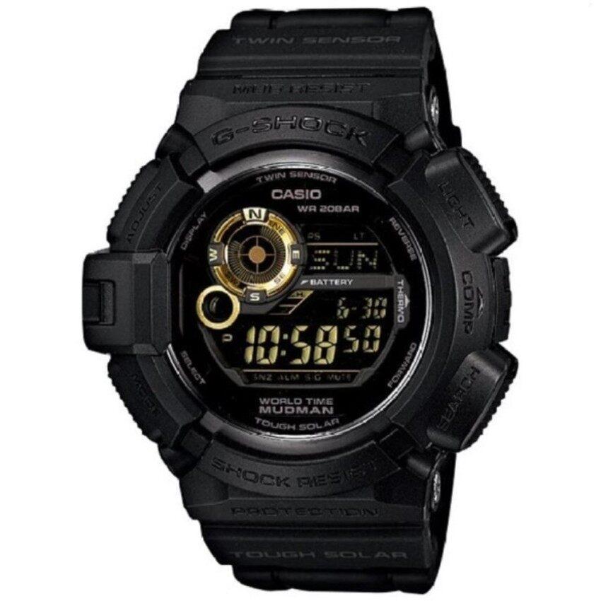 นาฬิกา Casio G-Shock นาฬิกาข้อมือ G-9300GB-1 (Black/Gold) ขายโละสต๊อก